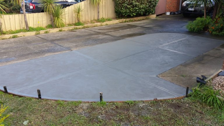 Driveway extension Paddie after 1